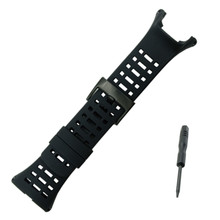 Cool Black 1 2 men's Sport Fits For Suunto Ambit 3 Rubber Watch Strap Band Watchband +Tool