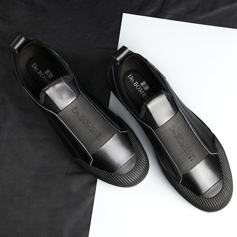 Men's Shoes Loafers Lightweight Comfortable New And The-Trend Handsome Low-To-Help Personality