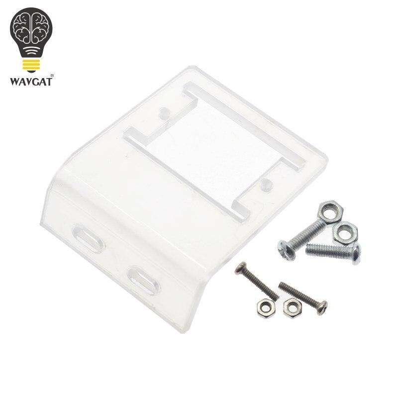 WAVGAT HC-SR501 отрегулировать инфракрасный ИК пироэлектрический инфракрасный PIR модуль датчик движения Детектор Модуль мы являемся производителем - Цвет: Acrylic Bracket