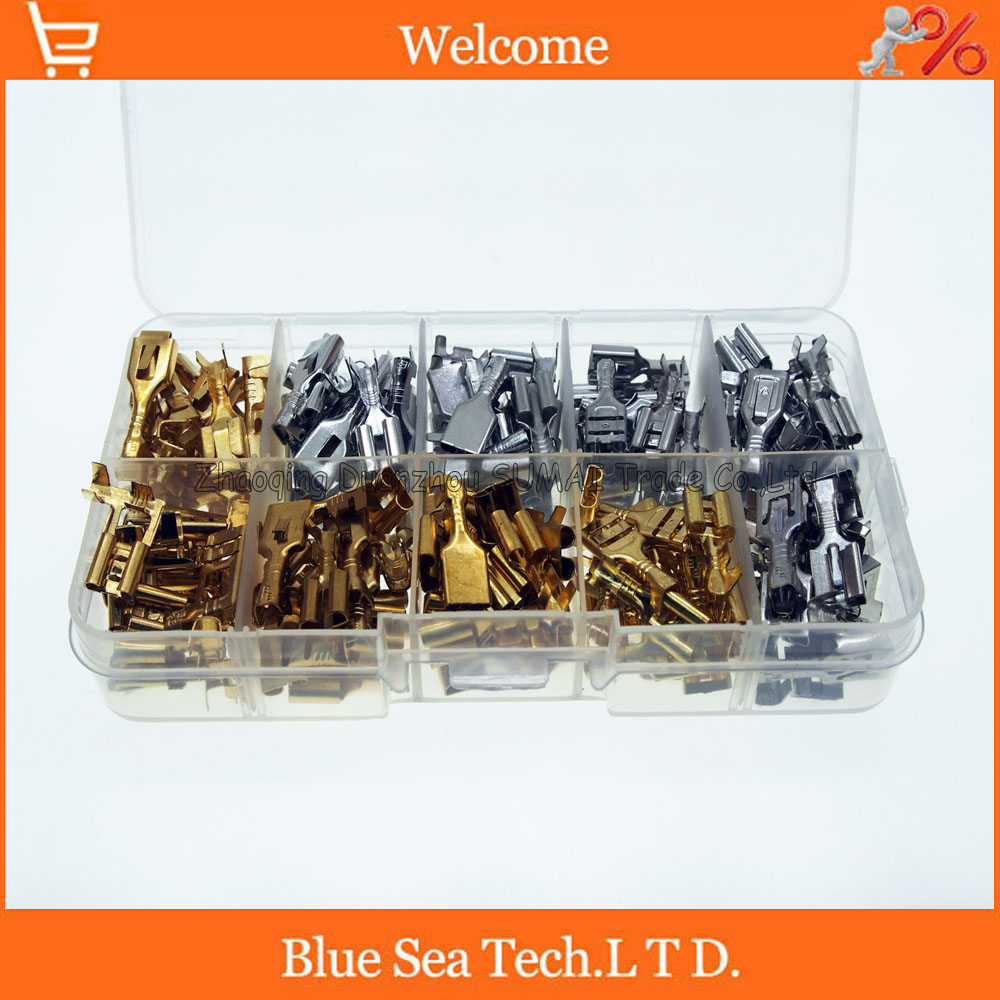 automotive fuse box promotion shop for promotional automotive fuse 10 model 185 pcs 6 3mm female terminals fuse holder box etc 6 3 terminal sets for car maintenance and modification
