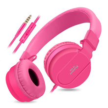 2018 Stereo Heavy Bass DJ Headset Headband Girls Auriculares with Mic Kanen Gaming Headphone for Computer PC Gamer Mobile цена и фото