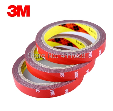 10x 20mm (2cm)*3M 3M Two Sides Acrylic Foam Tape with Strong  Sticky for Auto Car Truck awning Marble Ceramics, Glazed tile 10m super strong waterproof self adhesive double sided foam tape for car trim scotch