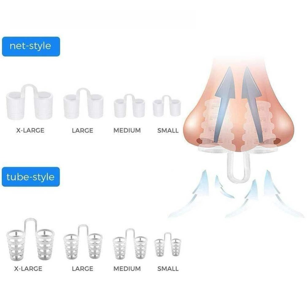 2 type of Anti-Snoring Nose Vent