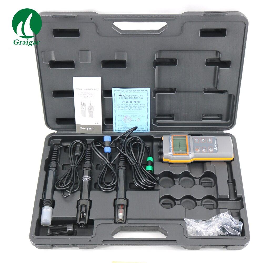 GRAIGAR IP67 AZ86031 portátil medidor de PH testador de oxigênio dissolvido medidor Da qualidade Da Água