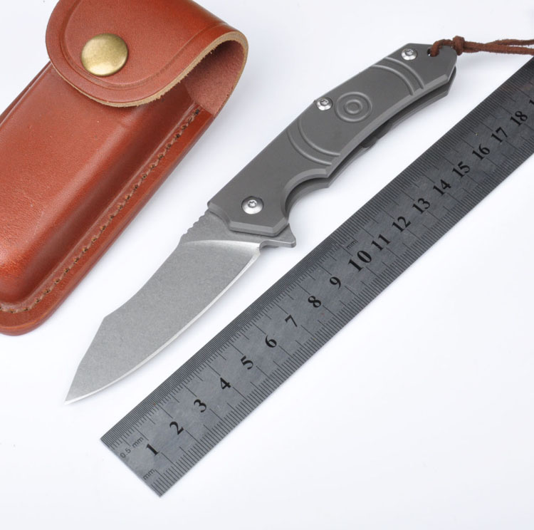 Top Quality Brand Survival Hunting Knives D2 Steel Blade Folding Knife Utility Tactical Knife Outdoor Camping Knife EDC Tools