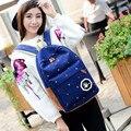2017 New designer ladies Canvas Backpack Feminine Printing Backpack School Bags For Teenagers Girls Rucksack Bag
