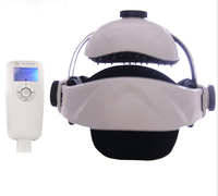 Electric Head Massager Multi Directional Intelligent Air Pressure Vibration Finger Press Malaxation Massage Helmet Type Massager