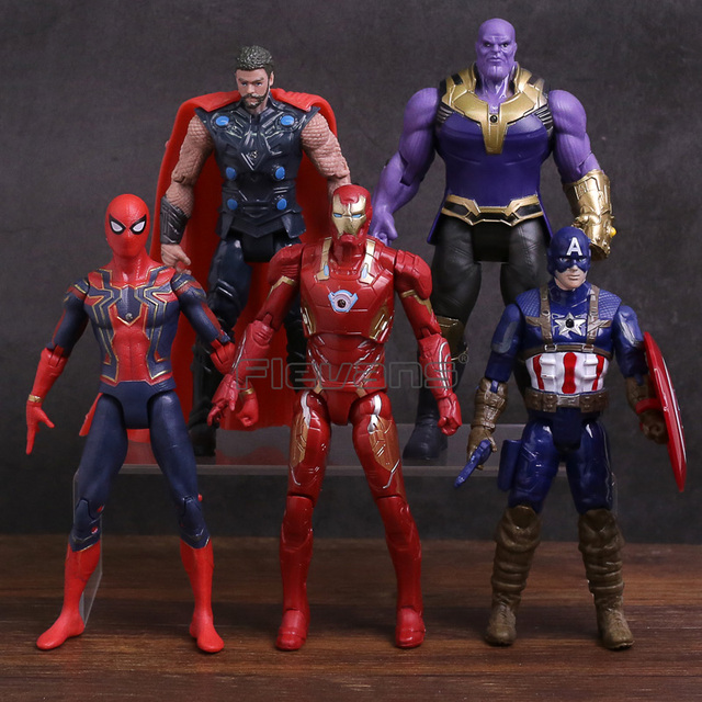 Avengers 3 Infinity War Hulk/Iron Man/Spiderman/Thanos/Vision/ Captain America/Ant Man/Thor/Loki  Action Figure
