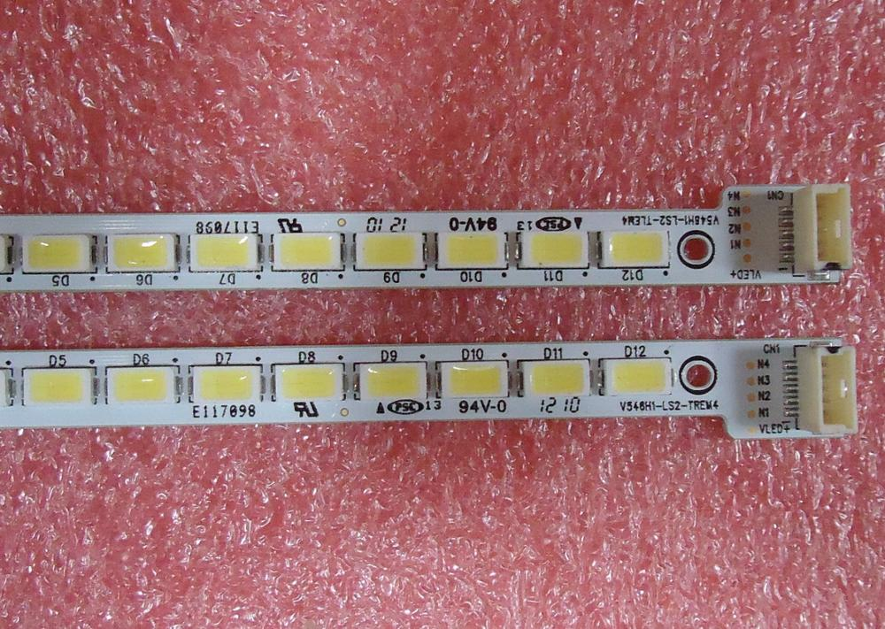 FOR Skyworth 55E65SG FOR Konka LED55IS95D Article Lamp V546H1-LS2-TLEM4 V546H1-LS2-TREM4 1piece=48LED 358MM