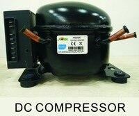 R134A or R600A DC 12V/24V Refrigerator Freezer Compressor ZM35DC