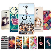 Soft Case For Asus Zenfone Go Case Cover For Asus ZS630kl ZB634KL ZA550KL ZE553KL ZC520TL ZB551KL ZB452KG Zb501kl Cases Silicone