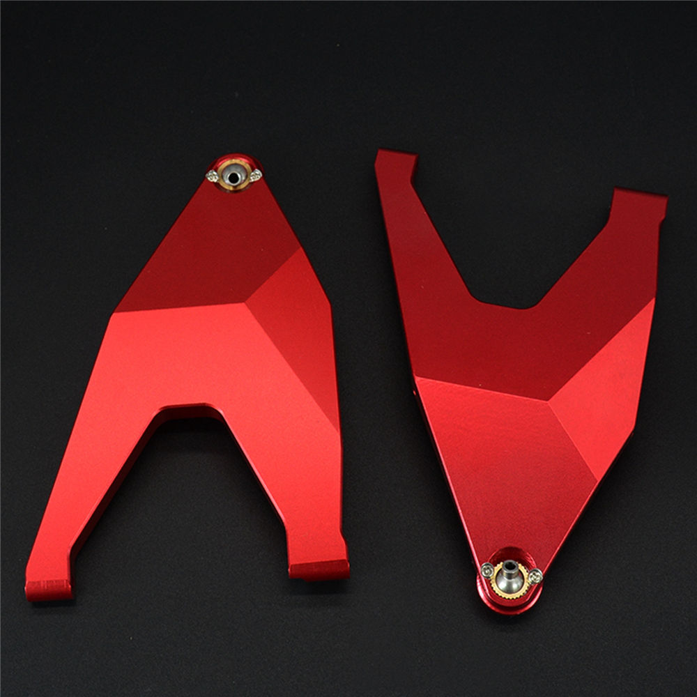 Front Lower Suspension Arm Metal Swing Arm Pull Rod Accessories for 1/7 TRAXXAS UDR Unlimited Desert Racer RC Car Upgrade Parts front lower suspension arm 06011 upgrade part 106019 b for 1 10 rc car hsp redcat himoto racing