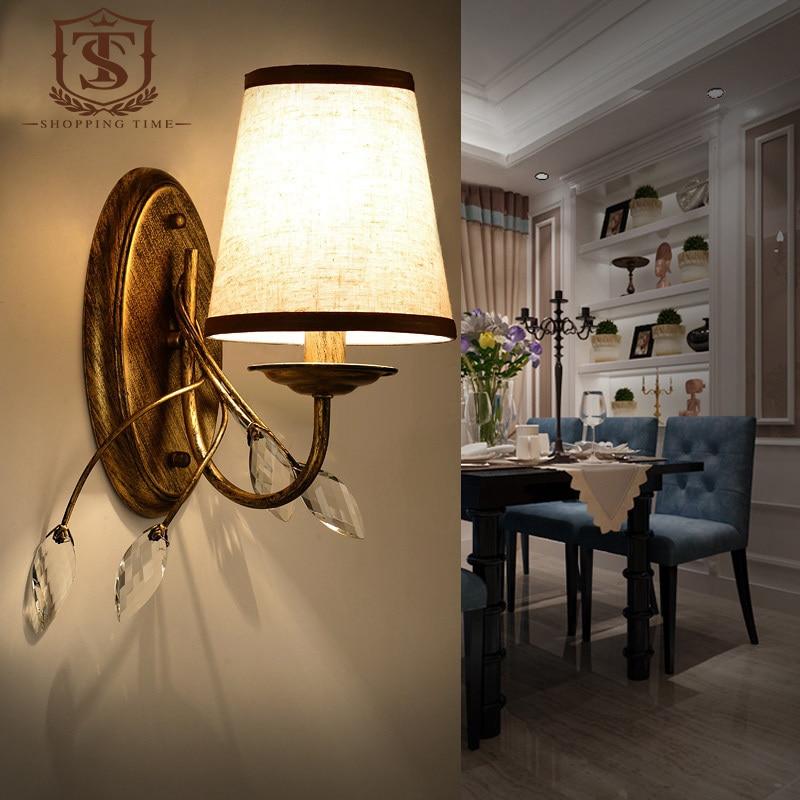 Acquista all'ingrosso online lampada applique da parete shades da ...