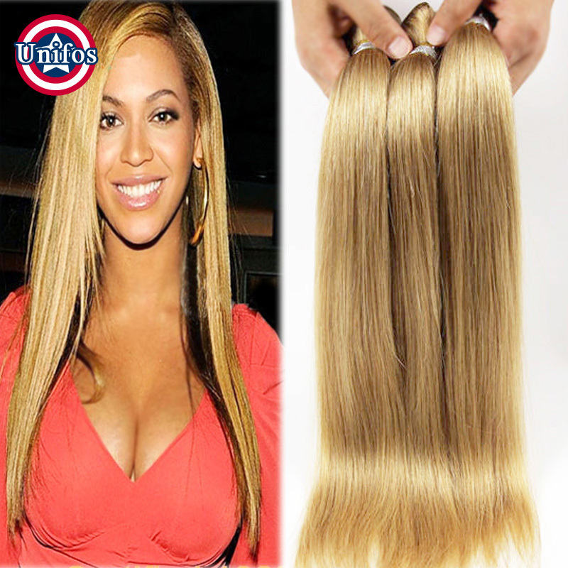 Blonde brazilian hair straight 5 bundles brazilian blonde straight blonde brazilian hair straight 5 bundles brazilian blonde straight hair weave strawberry 27 honey blonde human hair extensions in hair weaves from hair pmusecretfo Gallery