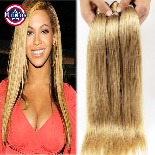 Blonde Brazilian Hair Straight 5 Bundles Brazilian Blonde Straight