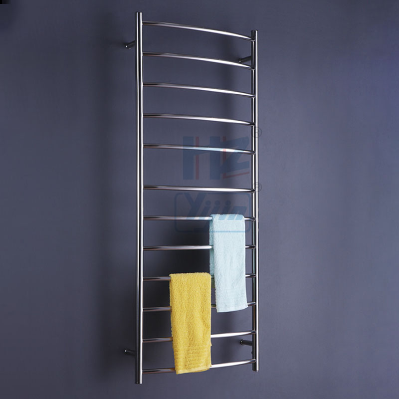 Curve Bars Electric Heated Towel Rail Stainless Steel ...
