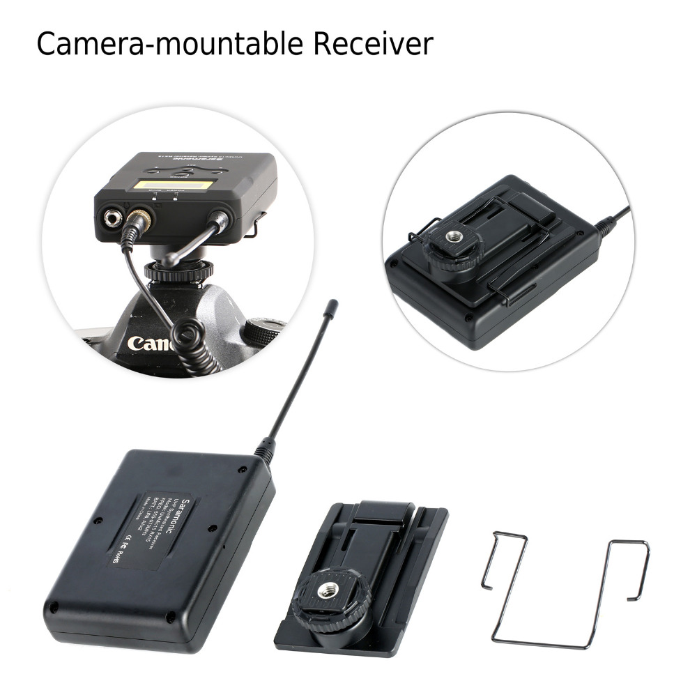 Sistema de micrófonos inalámbricos Saramonic, micrófono - Audio y video portátil - foto 6