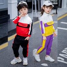 Baby Boys Girls Clothing Set Twin Outfits Boy Girl Sport Suit Unisex Child Active Costume Infant Children Clothes Suits Set 2-7T стоимость