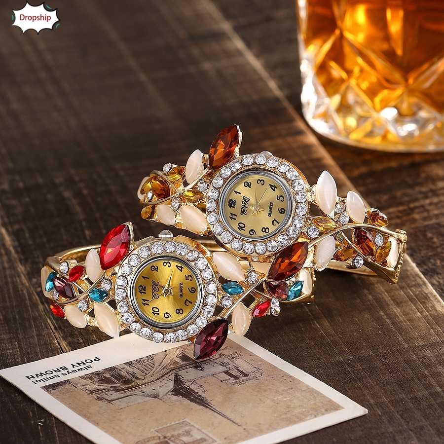 OTOKY 2019 חדש אופנה נשים נירוסטה צבאי אנלוגי קוורץ צמיד שעונים מתנה DropShiping 18Oct12