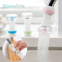 цена на Kitchen Water Purification Shower Head Faucet Splash Filter Water Saver Plastic Transparent Rotary Shower