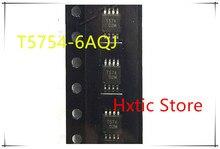 10PCS T5754 6AQJ T5754 6AQ T5754 T574 MSOP 8