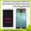 Золото Белый синий серебряный ЖК-Экран Сенсорный Дигитайзер Ассамблеи A7100 A7009 A700L A700S НОВОГО Для Samsung Galaxy A7 A7000