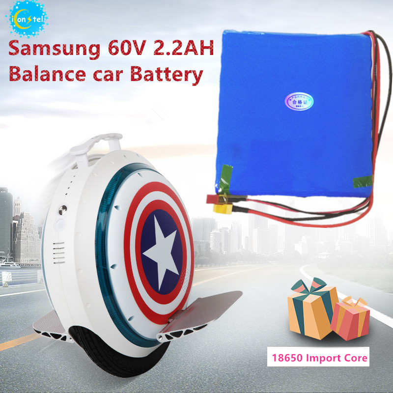 ICL Manufactor para a Coreia Samsung 18650 V 2200 mAH 132Wh 60 2.2AH carlectric monociclo Equilíbrio bateria de carro Auto poder bateria