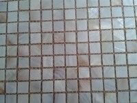 Горячие продажи природного цвета пресноводных оболочки мозаики поддержку сетки для щитка