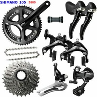 Shimano 105 5800 road bike groupset 5800 11S 22S groupset Road bicycle group set Groupset 53 39T 50 34T