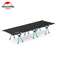Naturehike Outdoor Folding Camping Bed Sturdy Comfortable Foldable Sand Free Beach Cot Portable Camping Equipment Sleeping Bed
