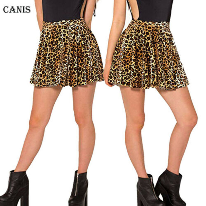 Sexy Women 2019 Brand New Style Leopard Print Wrap Hot Sale Bandage Tunic Mini Skirt Ladies Sexy Party Wear XXL XXXL 4XL