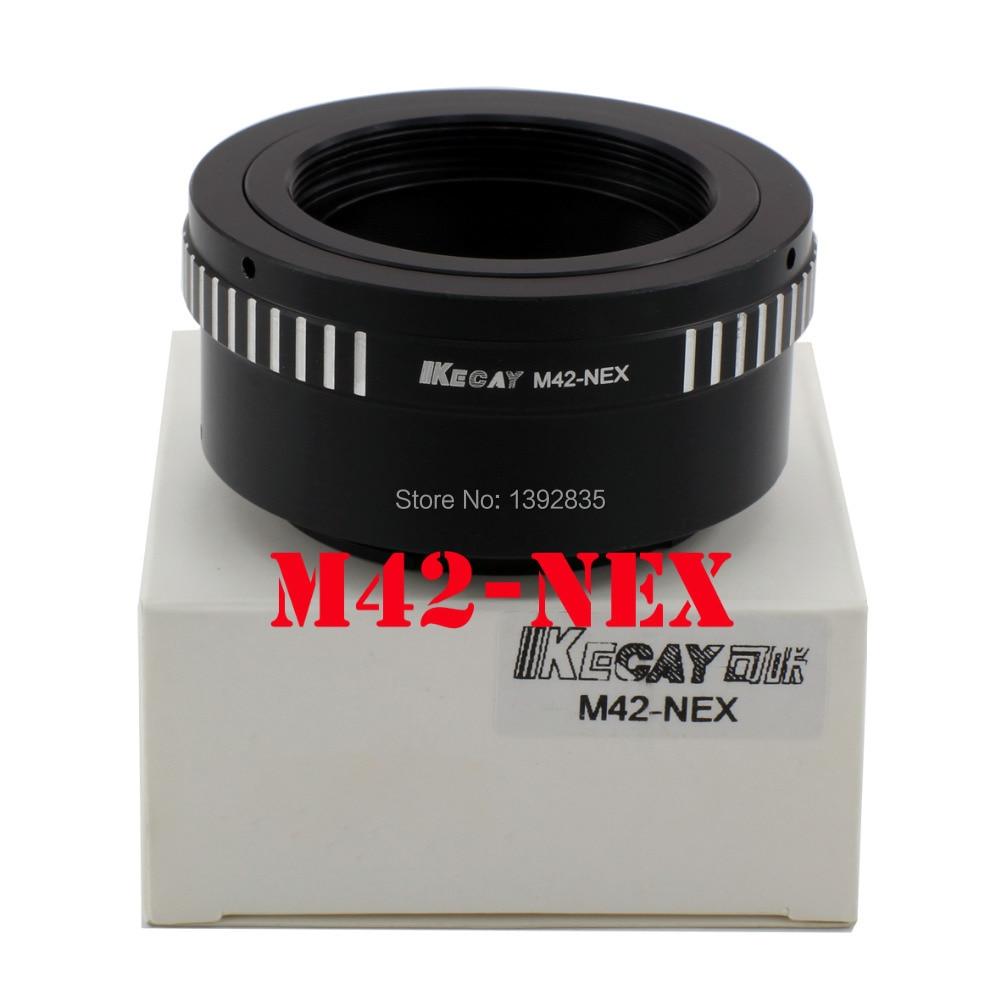 Kecay Lens mount Adapter M42-NEX Pour M42 Et pour SONY NEX E Mont corps NEX3NEX5 NEX5N NEX7NEX-C3NEX-F3 NEX-5R NEX6