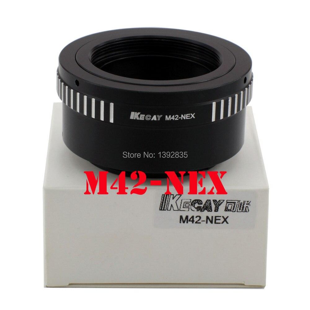 Kecay lente adaptador de montagem M42-NEX para lente m42 e para sony nex e montagem corpo nex3nex5 nex5n NEX7NEX-C3NEX-F3 NEX-5R nex6