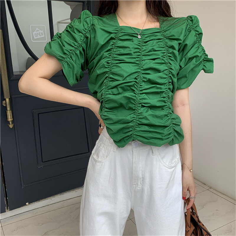 HziriP Camisetas Verano Mujer 2019 New Fashion Summer Streetwear Crop Top Women Tshirt Sexy Solid Short Sleeve Tee Shirt Femme image