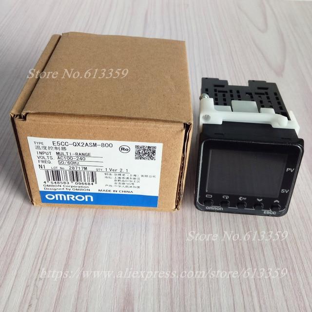 Omron E5CC QX2ASM 800 régulateur de température Original véritable nouveau remplacement E5CZ Q2MT capteur de haute qualité