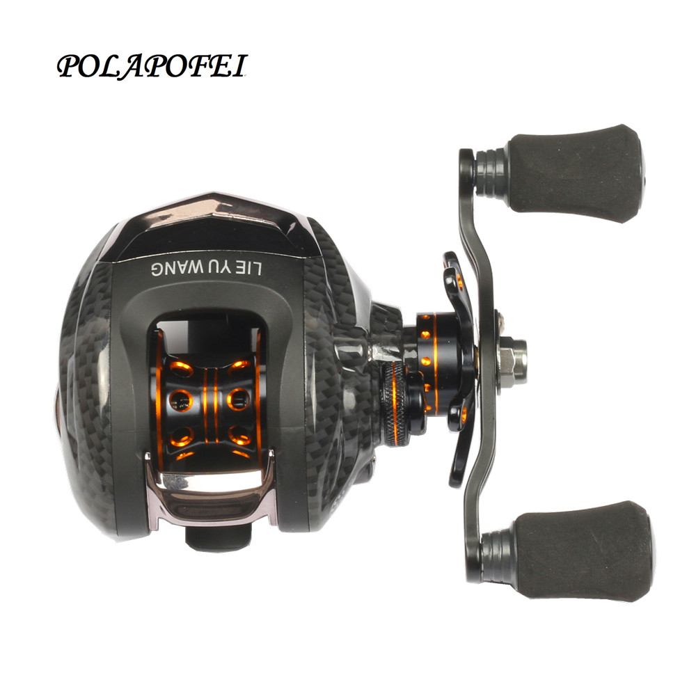 Lure fishing reel baitcasting reel fish coil trolling for Discount fishing reels