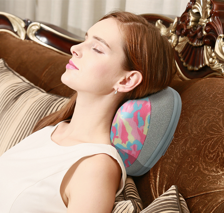 MARESE Electric Cervical Shiatsu Massage Pillow For Shoulder Neck Back Body With Kneading Heating Massager 13