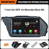 Free Camera 2PCS 7 Inch Touch Screen Win Ce 6 0 System Car GPS For Mercedes