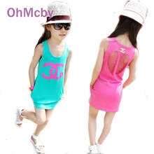 2016 Summer style girls dress cotton baby dress hollow out girls clothing infant princess dress baby girl clothes