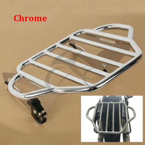 ФОТО Detachable Two Up Tour Pak Mounting Luggage Rack For Harley Touring 09-16