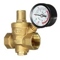 موثوق براس المياه منظم الضغط مع قياس التدفق dn20 3/4
