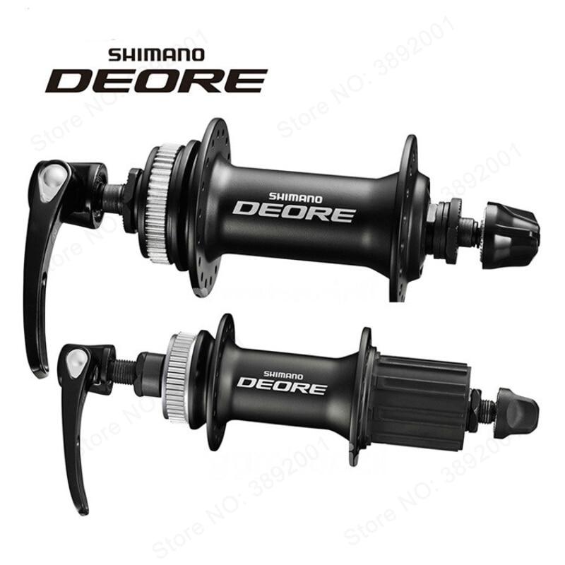 Genuine SHIMANO DEORE M615 32H Center Lock Bicycle Hub Front & Rear MTB Mountain Bike Disc Brake Parts shimano deore m615 32h center lock bicycle hub front