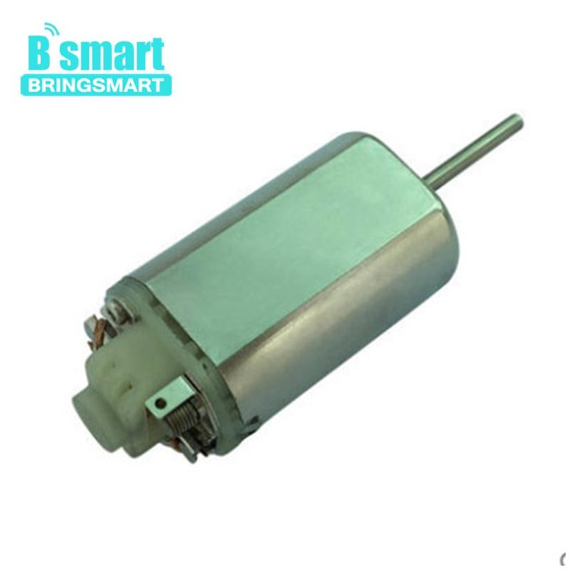 Bringsmart FK480 DC moteur haute vitesse 8.4 V 32000 tr/min moteur électrique avion mini ventilateur bricolage pièces micro outils électriques en métal