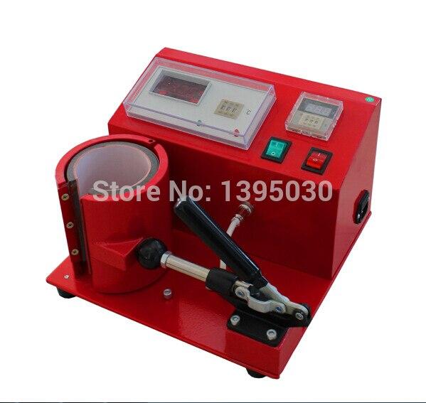 1pc 110/220V Digital Mug Press Machine (MP2105) Pneumatic Heat Press Machine new single column pneumatic press jna63 pneumatic punching machine small adjustable force 200kg pneumatic punch 1pc