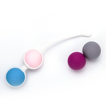 Vaginal Clever Ball Vagina Tight Exercise Trainer Female Vaginal Shrink Training  Kegel Ball Waterproof 4 Balls Bead Dumbbells 2