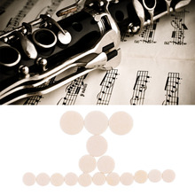 New Clarinet Pad Packing Stage 5 Set 85pcs Flat Bb Clarinet Pads Sound Hole Pads Great Material Band Music Accessories