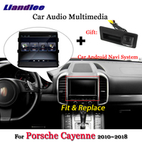 Liandlee 8.4 Inch Android System For Porsche Cayenne 2010~2018 Radio Camera GPS Navi MAP Navigation HD Screen Multimedia No DVD