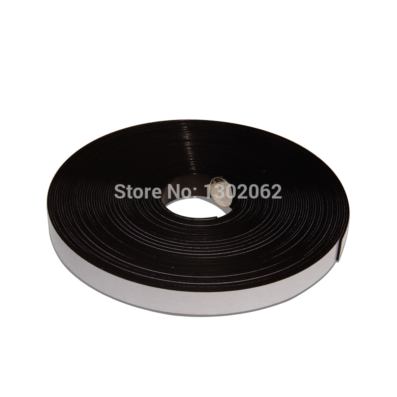 Free shipping 2 Meters Self Adhesive Flexible Magnetic Strip Magnet Tape Width20x1.5mm Ad / Teaching Rubber Magnet free shipping 2 meters self adhesive flexible magnetic strip magnet tape width20x1 5mm ad teaching rubber magnet
