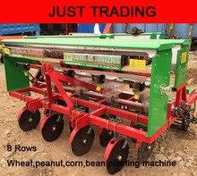8 rows multifunctional peanut corn wheat bean planter seeder planting machine
