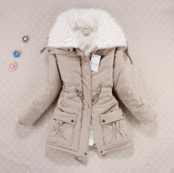 ef97bc4b905 Winter Women's Parkas Spring and Autumn coat Slim Down female fashion jacket  of different colors JACKETS